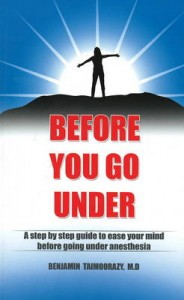 Before Going Under Anesthesia Cover Book Image